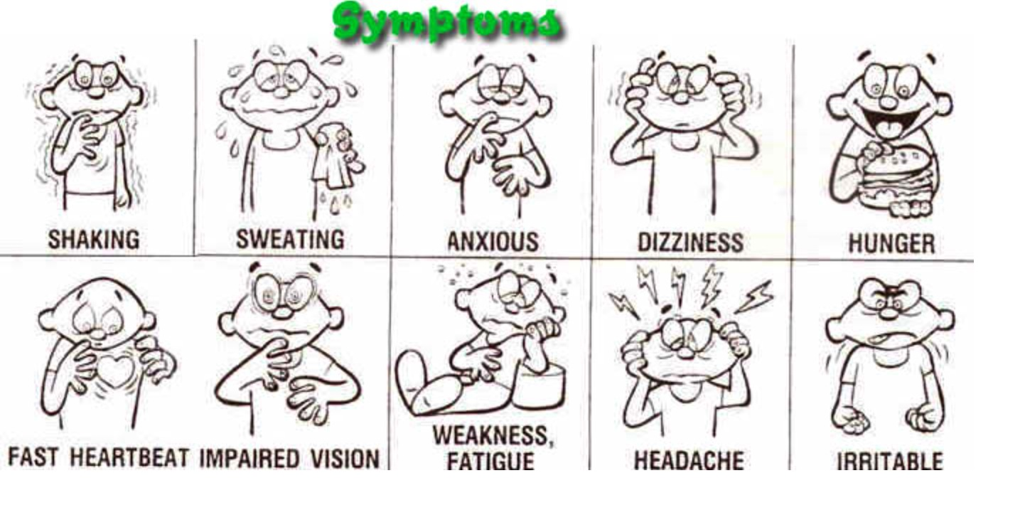Hypoglycemia is not just experienced by diabetics