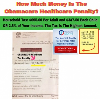 The IRS Can Charge You The Obamacare Tax Penalty