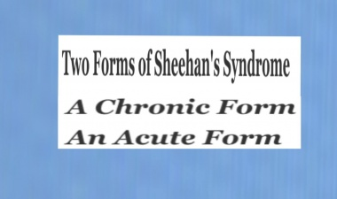 Two Types Of Sheehan's Syndrome