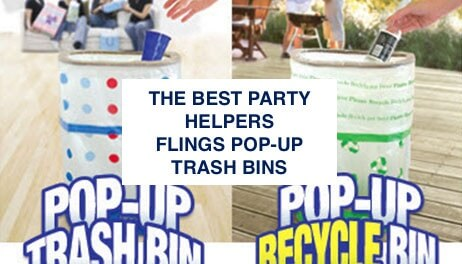BEST Pop Up Trash Cans Flings