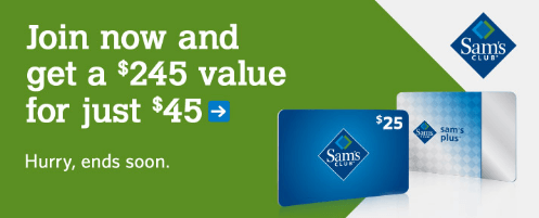 Free Sam's Club Membership