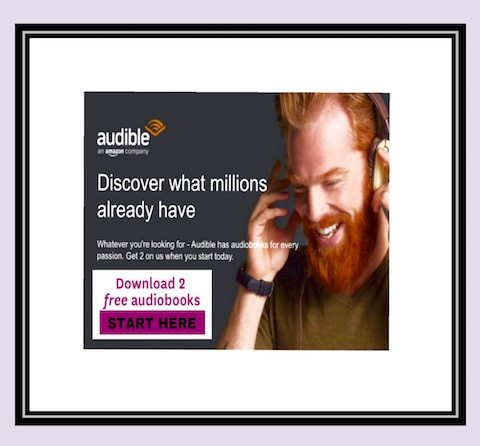 how to receive your 2 free amazon audible books