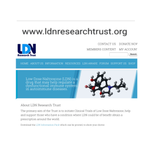 What Is Low Dose Naltrexone?