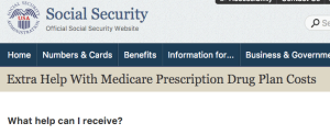 Extra Help with Medicare Prescription Drugs
