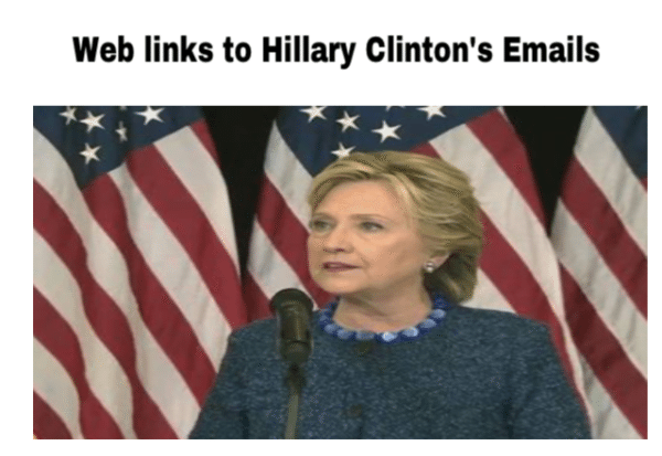 WHERE YOU CAN FIND HILLARY CLINTON'S EMAIL FACTS