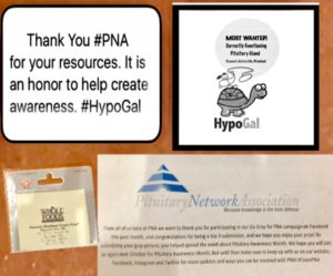 Pituitary Network Association Awareness Contest